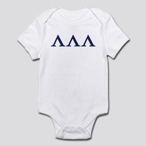 Lambda Lambda Lambda Homecoming Infant Bodysuit
