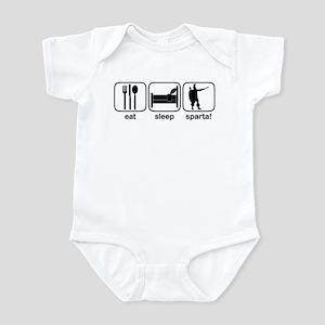 Eat Sleep Sparta! Infant Bodysuit