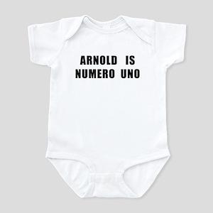 Arnold Is Numero Uno Infant Body Suit