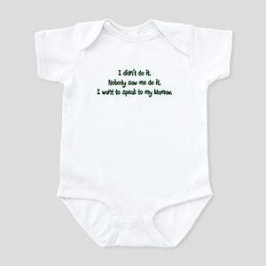 Want to Speak to Mamaw Infant Bodysuit