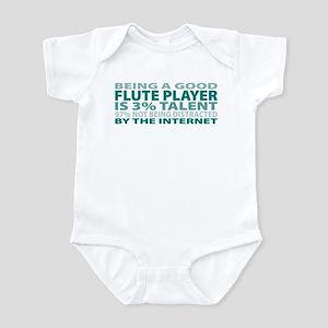 Good Flute Player Infant Bodysuit