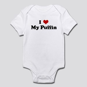 I Love My Puffin Infant Bodysuit