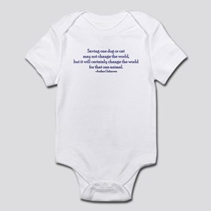 Saving One Life At a Time Infant Bodysuit