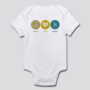 Peace Love Scout Infant Bodysuit