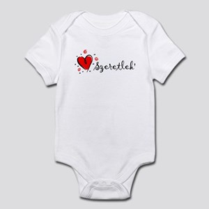 """I Love You"" [Hungarian] Infant Bodysuit"