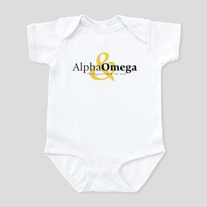 Alpha and Omega Infant Bodysuit