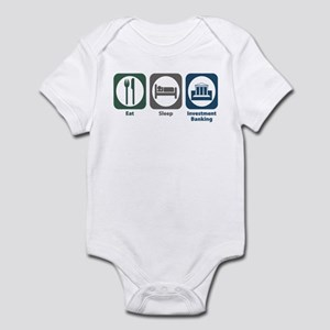 Eat Sleep Investment Banking Infant Bodysuit