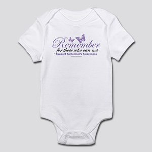 Remember Alzheimer's Infant Bodysuit