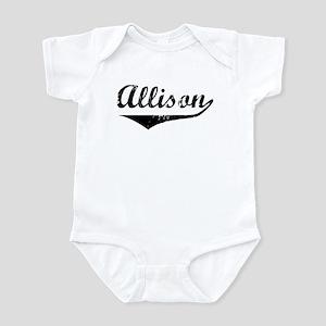 Allison Vintage (Black) Infant Bodysuit