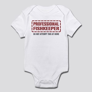 Professional Fishkeeper Infant Bodysuit