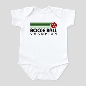 Bocce Ball Champion Infant Bodysuit