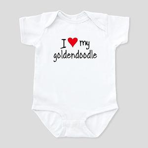 I LOVE MY Goldendoodle Infant Bodysuit