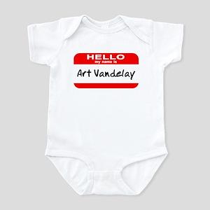 Hello My Name Is Vandelay Infant Bodysuit