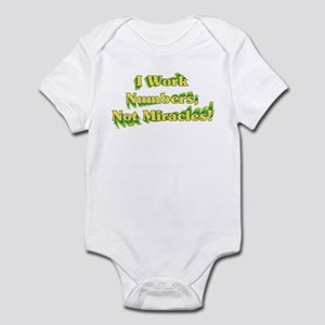Numbers, Not Miracles Infant Bodysuit