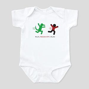 Run, Redshirt, Run! Infant Bodysuit