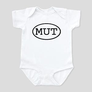 MUT Oval Infant Bodysuit