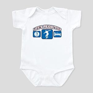 Life's Priorities Discus Infant Bodysuit