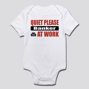 Banker Work Infant Bodysuit