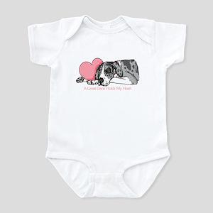 MerleB UC Holds Heart Infant Bodysuit