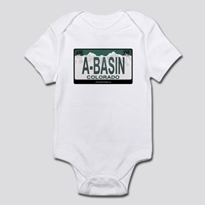 A-Basin Plate Infant Bodysuit