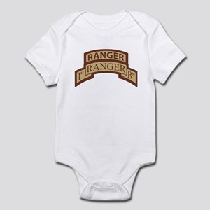 1st Ranger Bn Scroll/ Tab Des Infant Bodysuit