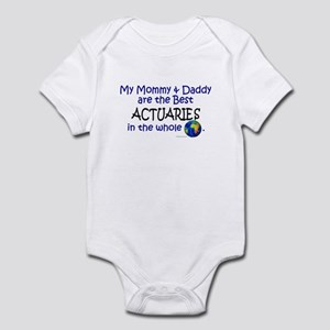 Best Actuaries In The World Infant Bodysuit