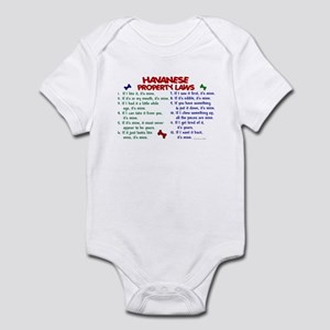 Havanese Property Laws 2 Infant Bodysuit