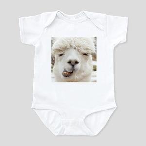 Funny Alpaca Smile Body Suit