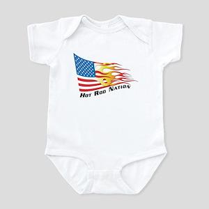 Nation Flag Infant Bodysuit