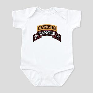 2D Ranger BN Scroll with Rang Infant Bodysuit