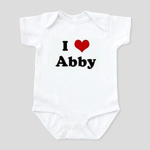 I Love Abby Infant Bodysuit