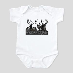 Monster buck deer Infant Bodysuit