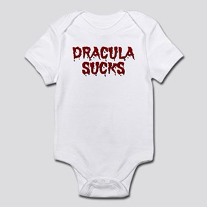 DRACULA SUCKS Infant Bodysuit