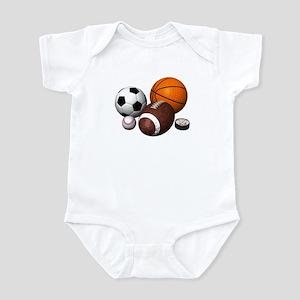 sports balls Infant Bodysuit