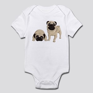 Pugs Infant Bodysuit