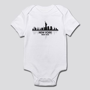 New York Skyline Infant Bodysuit