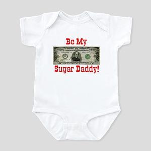 Be My Sugar Daddy! Infant Creeper