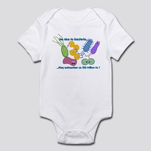Outnumbered Infant Bodysuit