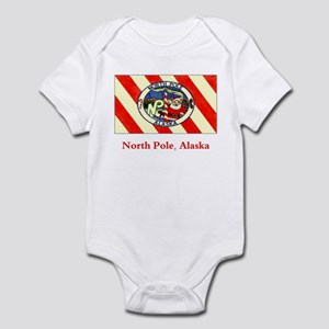 North Pole AK Flag Infant Bodysuit