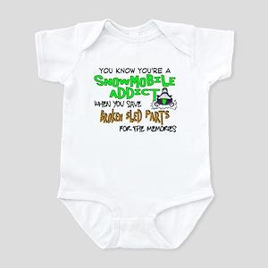 Sled Parts Memories Infant Bodysuit
