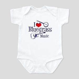 I Love Bluegrass Infant Bodysuit