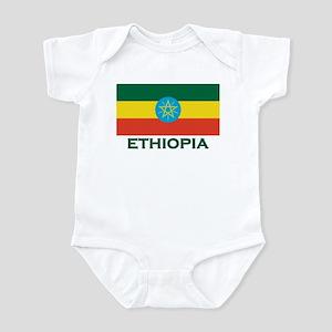 Ethiopia Flag Merchandise Infant Bodysuit