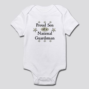 Proud Son National Guard Infant Bodysuit