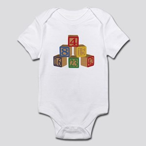 Number Blocks Infant Bodysuit