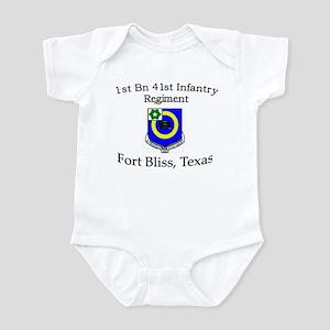 1st Bn 41st Inf Infant Bodysuit
