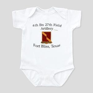 4th Bn 27th FA Infant Bodysuit