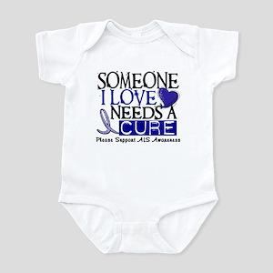 Needs A Cure ALS T-Shirts & Gifts Infant Bodysuit