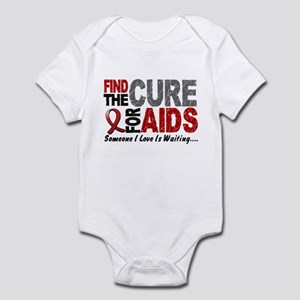 Find The Cure 1 HIV AIDS Infant Bodysuit
