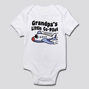 Grandpa's Little Co-Pilot Infant Bodysuit