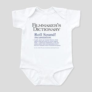 Film Dctnry: Roll Sound! Infant Bodysuit
